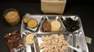 1977 Meal Combat Individual C Ration Ham & Eggs Chopped Vintage MRE Review