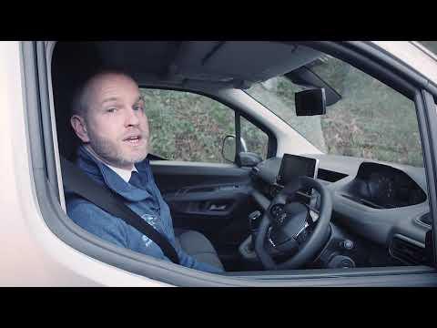 The All New Peugeot Partner Van 2019 Review, Walkaround & Drive