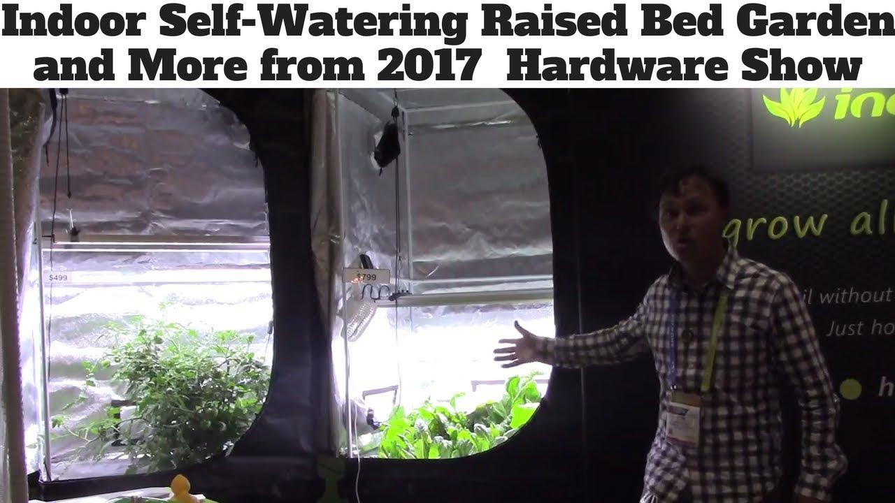 Indoor Self Watering Raised Bed Garden + More from 2018