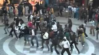 Nandos flash mob