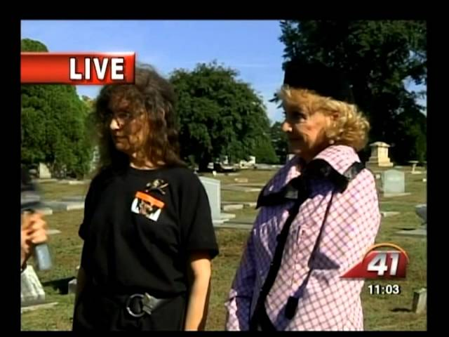 41NBC/WMGT- Spirits in October Brings Riverside Cemetery History to Life 10.16.13