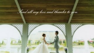 クリス・ハート 『手紙』 両親へ感謝を伝えるプロフィールムービー  結婚式 thumbnail