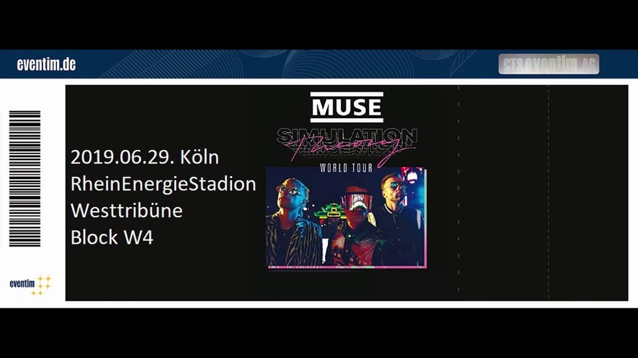 MUSE Köln Cologne Simulation Theory World Tour 29.06.2019