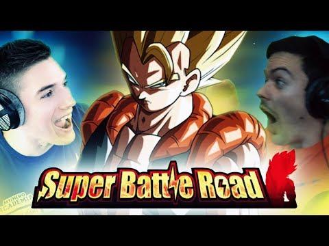 THE FUSION SUPER BATTLE ROAD RACE! RHYMESTYLE vs NANOGENIX! Dragon Ball Z Dokkan Battle