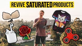 How To Make Money With SATURATED Aliexpress Products (Shopify Product HACK)