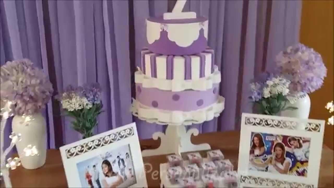 Decoração de festa infantil Violetta Disney  YouTube