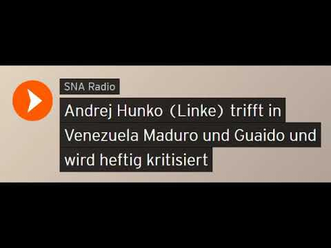 Andrej Hunko (Linke) trifft in Venezuela Maduro und Guaido / Heftige Kritik (Sputniknews)