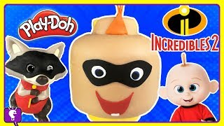 Incredibles JACK JACK Play Doh Build + DIY Phone Case by HobbyKidsTV