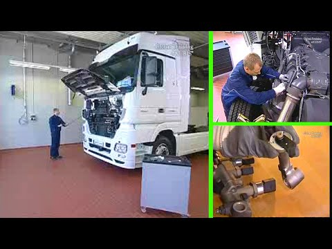 Mercedes Benz Actros | Diffusor heater of AdBlue metering unit - Repair