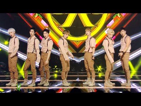 《POWERFUL》 MONSTA X - All IN(걸어) @인기가요 Inkigayo 20160619