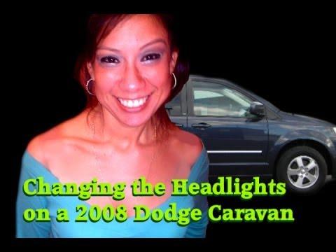 Changing the Headlight for 2008 Dodge Caravan
