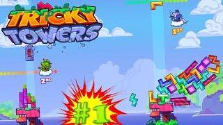 Прокаченный тетрис и угар - Tricky Towers #1
