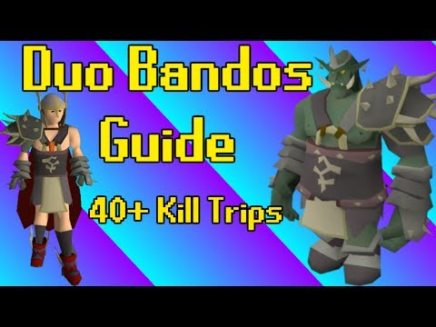 In Depth Duo Bandos Guide - Attacker + Tank Guide (ft. Shawn Jr.)