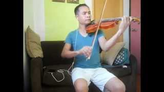 God Gave Me You  by  Brian White violin cover oido (amateur violinist)
