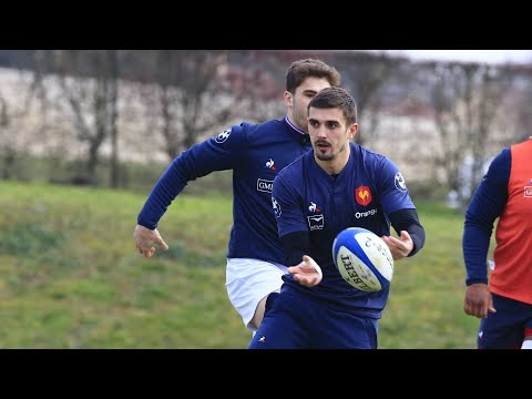XV de France masculin : Thomas Ramos, premier contact