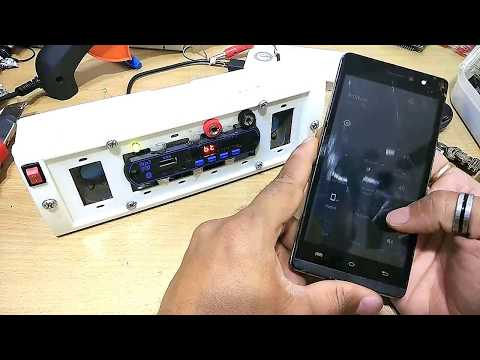 How to make Bluetooth Mp3 player |Bluetooth Mp3 With Fm-Decoder-Player DC-5-12v - by Manmohan Pal