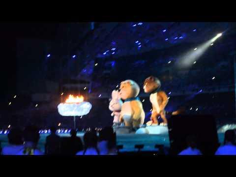 Церемония закрытия XXII Зимних Олимпийских Игр в Сочи 2014