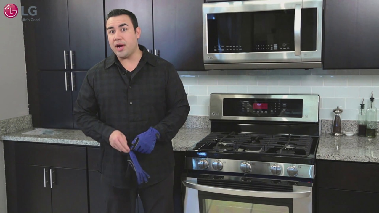 Lg Range How To Replace The Oven Light Bulb Youtube