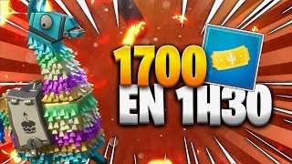 1700 TICKETS ROAD TRIP IN 1H30 - FORTNITE SAUVER THE WORLD