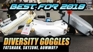 BEST FPV Goggles - Skyzone Sky02s VS Fatshark Fpv Goggle Review