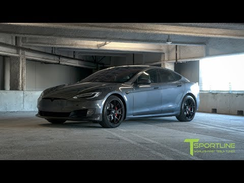 Fully Customized Tesla Model S P100D with new Carbon Fiber Body Kit!