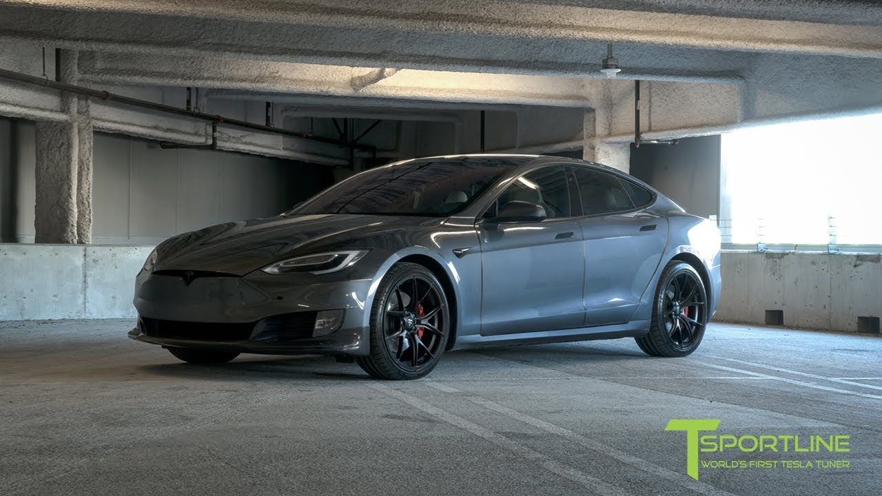 Fully Customized Tesla Model S P100d With New Carbon Fiber Body Kit