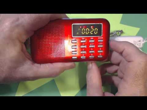 TRRS #0751 - FM Radio & MP3 Player from BangGood