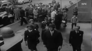 Kong Olav besøker Nasjonalgalleriet (1959)