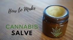 DIY Cannabis Salve   Ointment