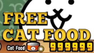 The BEST Way to Get Free Cat Food in Battle Cats 2020