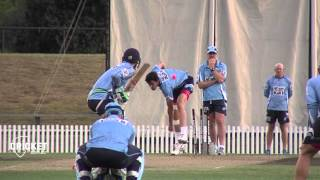 NSW test pink ball under lights