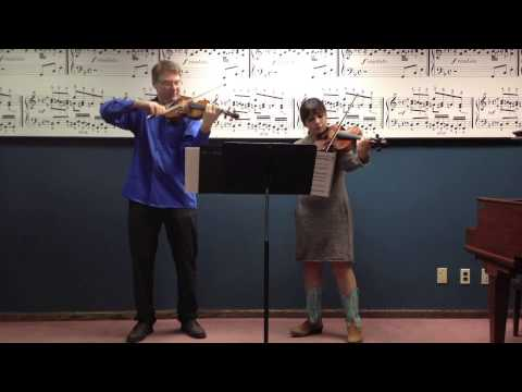 Miller-Porfiris Duo plays Five Postcards by Errollyn Wallen