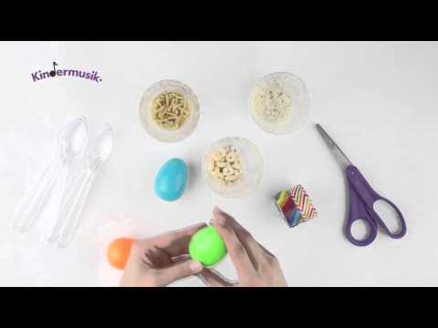 Kids Craft Activity -  How to Make Easter Egg Maracas