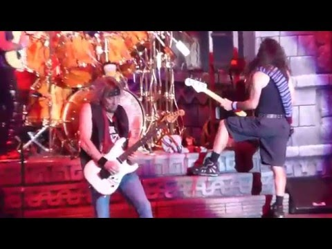 Iron Maiden - The Trooper @ The Forum, Inglewood, CA, USA 4/15/2016