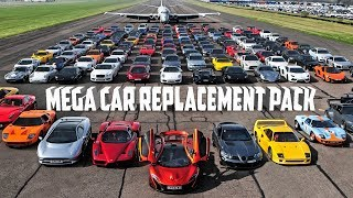 How to download and install Mega car's replacement Add-On pack For latest GTA V + New Traffic |2018|
