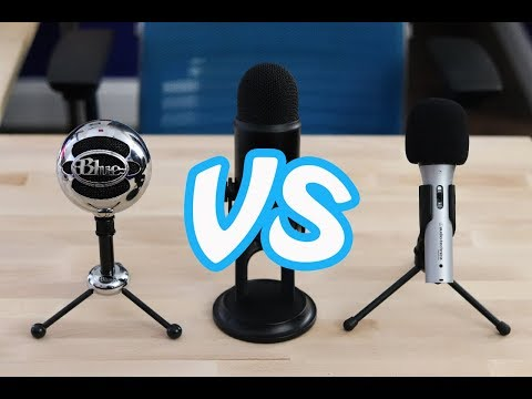 Yeti vs Snowball vs ATR2100: Best Microphone under $100