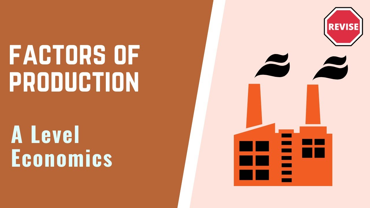 identify the factors of production economic All factors of production are traditionally  supplies are determined more or less outside the economic system  factors whereas capital and.