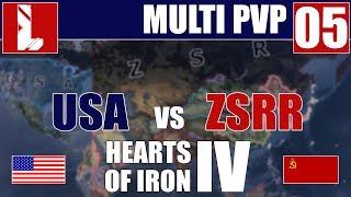 W akcie desperacji | ZSRR vs USA | Hearts of Iron IV | 05 / Repus