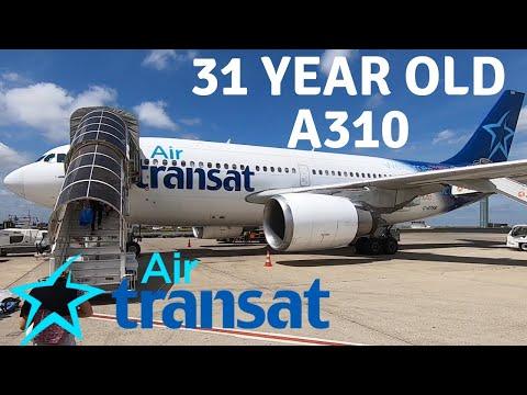 AIR TRANSAT AIRBUS A310-300 (Business)   PARIS - QUEBEC CITY