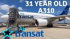 AIR TRANSAT AIRBUS A310-300 (Business) | PARIS - QUEBEC CITY
