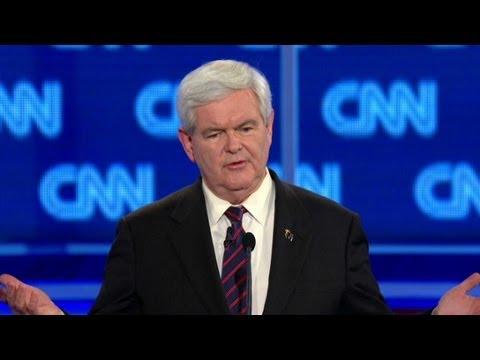Gingrich: Palestine An 'invention'