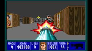 Wolfenstein 3D (E4M9) (100%)