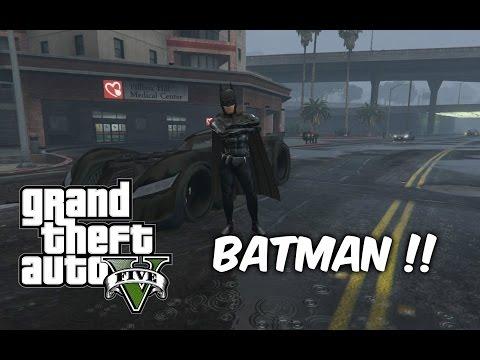 BATMAN KOCAK    GTA V MOD SHOWCASE