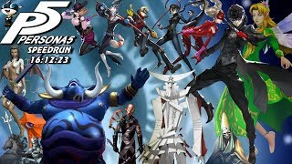 Persona 5 Speedrun Hard Mode(16:12:23) World Record