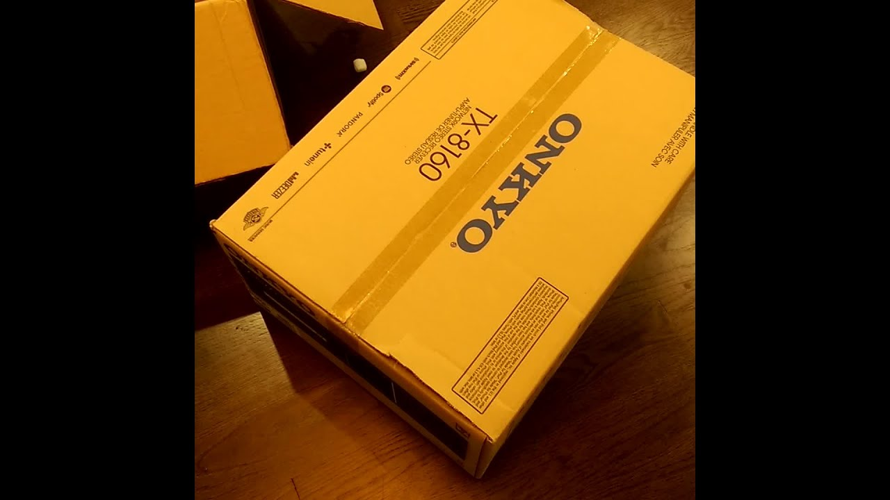 Customer unboxing: Onkyo TX-8160 stereo receiver | Crutchfield video
