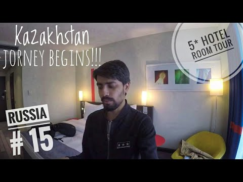 I stayed in a 5 STAR Hotel for FREE in Astana , Kazakstan | My Luxury Room Tour