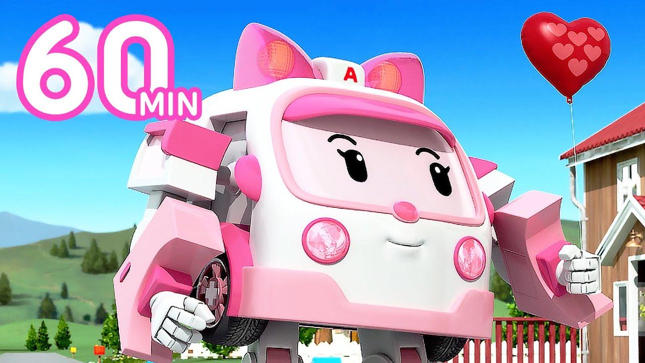 Download Robocar POLI 1 Hour Clip | Catch that Balloons! | Cartoon for Kids | Robocar POLI TV