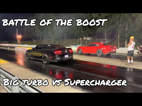 Big Turbo Mustang GT vs Supercharged 2018 Mustang GT