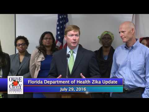 Florida Deptartment of Health Zika Update