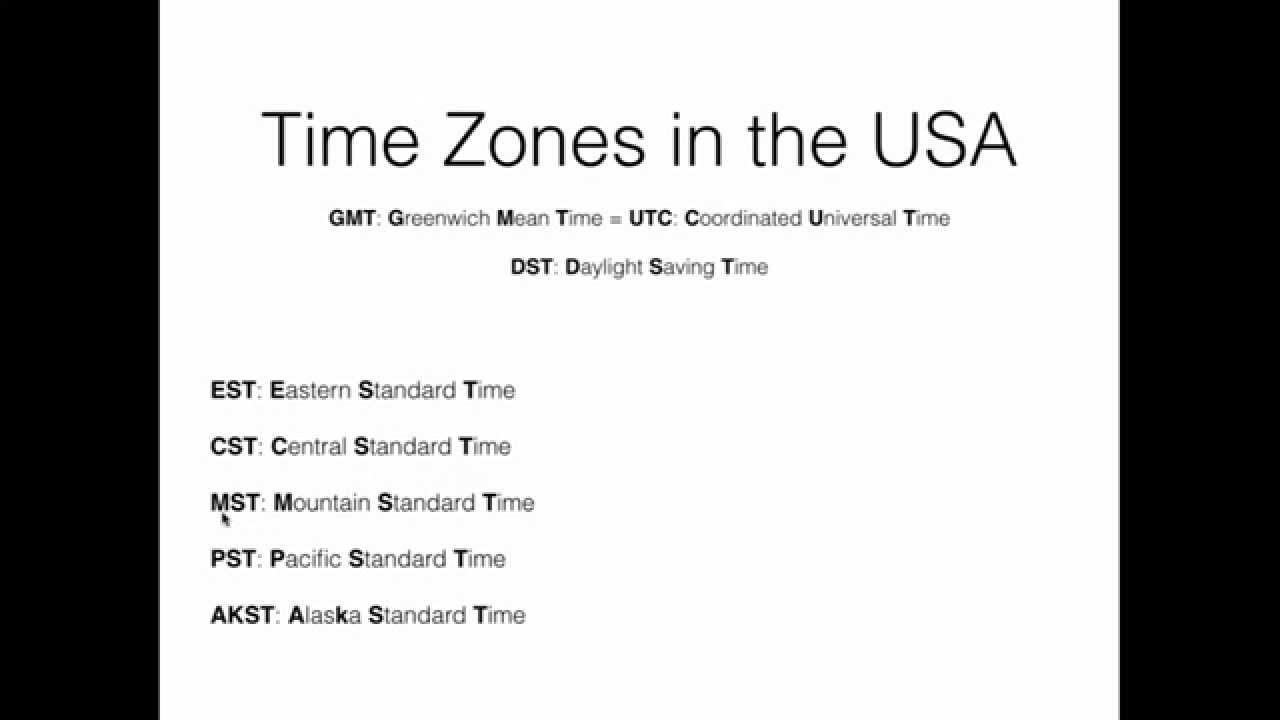 United States Time Zones Part  YouTube - Us map time zones black and white
